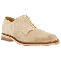 N.D.C. Made By Hand Suede Derby Shoe