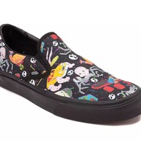 Vans Disney Pixar Toy Story Sids Mutants Classic Slip On Shoes Mens US Size 10.5