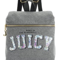 Juicy Logo Backpack by Juicy Couture