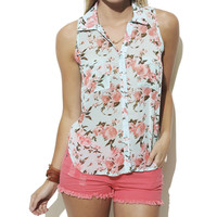Floral Shirt | Shop Just Arrived at Wet Seal