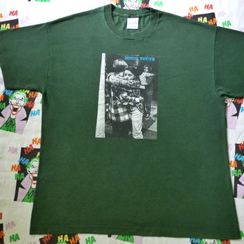 Vintage SONIC YOUTH Dancing Kids t-shirt nirvana the pixies tour rare concert