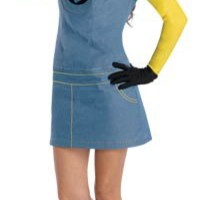 Despicable Me Female Minion Adult Costume - Halloween Costumes