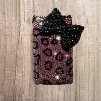 iPhone 6 case, iPhone 6 plus case, cute iphone 6 case bow, bling iphone 6 case, bling iphone 6 plus case, cheetah iphone 6 case bling bow