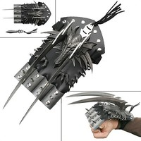Dragon Spiked Hand Claw w/ Guards