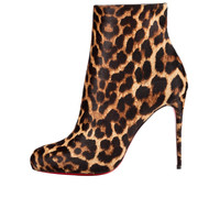 Amourplato Women's High Heel Fashion Leopards Boots SH226