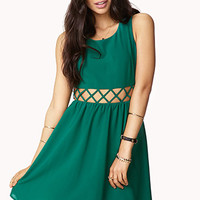 Fit & Flare Cage Dress