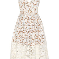 Self-Portrait - Azaelea floral-lace dress