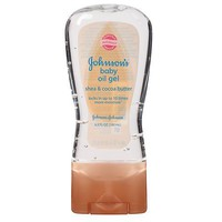 Johnson's Baby Oil Gel Cocoa Butter | Walgreens