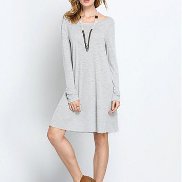 Autumn Winter Womens Loose Comfortable Dress Gift 120