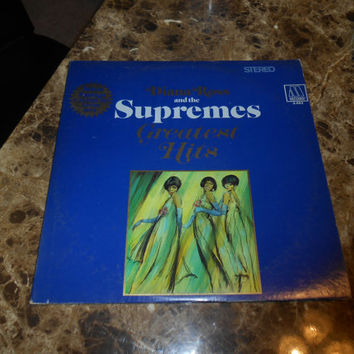 Vinyl Record - Diana Ross and the Supremes - Greatest Hits - Vintage Vinyl 1967