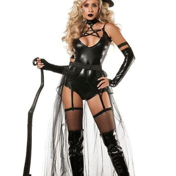 Chicloth 4pcs Miss Witchcraft Costume