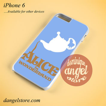 Alice In Wonderland Tea Cup Phone case for iPhone 6 and another iPhone devices