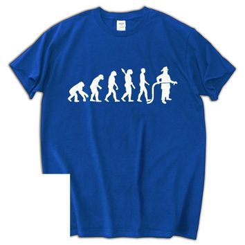 Fireman Evolution - Funny Firefighter Rescue T-shirt