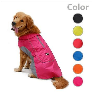 Polyester Dog Coat Waterproof Winter Cotton Warm Winter Dog Clothes