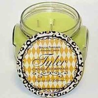 Tyler Two Wicks Glass Candle Hippie Chick - 22 oz