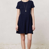Anthropologie - Pleated Lapis Dress