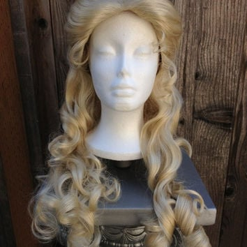 Aurora Inspired Wig from 2014 Maleficient Movie Quality Custom Couture Styled