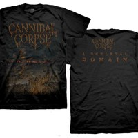 Skeletal Domain Cover T-Shirt - Tees - Cannibal Corpse
