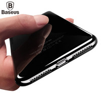 Baseus Ultra Thin Slim Case For iPhone 7 Plus Crystal Clear Soft Transparent TPU Silicon Protective Back Cover For iPhone 7