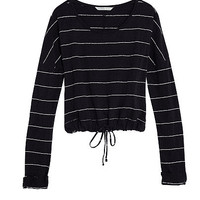 Tie-front Pullover - Easy Mixers - Victoria's Secret