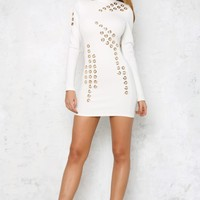 Sugar Coated Dress White