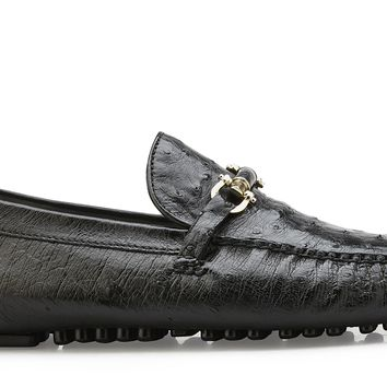 "Belvedere ""Omar"" Ostrich Quill Driving Shoe"