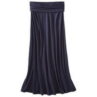 Mossimo Supply Co. Juniors Foldover Waist Maxi Skirt - Assorted Colors