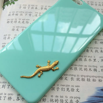 lizard, animal case,protective case for iPhone 6 iPhone 6 plus iPhone5/s, summer gift hard case,best friends gift