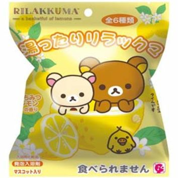 Rilakkuma Bath Bomb -- You can find Rilakkuma and Friends In Your Bathtub