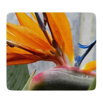 Bird of Paradise Floral Cutting Board