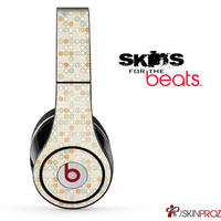 Vintage Dotted Pattern Skin For The Beats by Dre Studio, Solo, Pro, Mix-R or Wireless