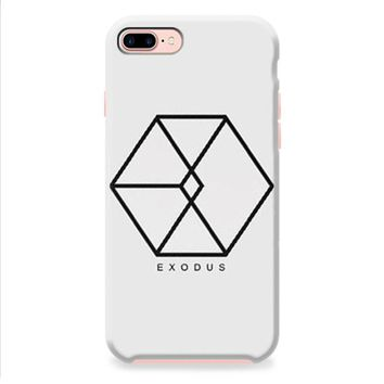 Exodus EXO KPOP white iPhone 8 | iPhone 8 Plus Case