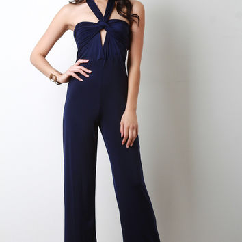 Convertible Multi Wrap Jumpsuit