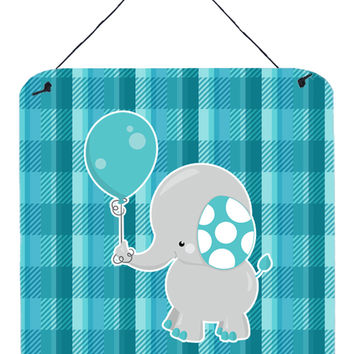 Elephant with Balloon Wall or Door Hanging Prints BB6835DS66