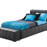 Zoey Black Twin Bed