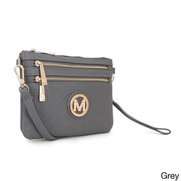 MKF Collection Grace Embossed M Cross Body by Mia K. Farrow