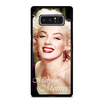 MARYLIN MONROE Samsung Galaxy Note 8 Case Cover