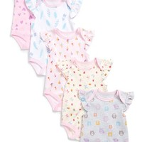 Infant Girl's Rosie Pope Print Bodysuits ,