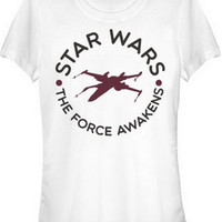 STAR WARS TFA CIRCLE TITLE JUNIORS T-SHIRT