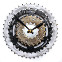 Bicycle Gear Clock - Steampunk