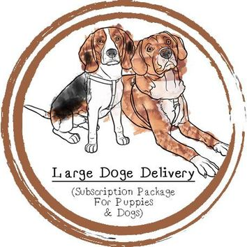 Large Doge Delivery (For Puppies & Dogs) - Subscription Box - Food Subscription - Raw Food - Raw Feeding - Dogs - Puppy