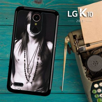 Axl Rose Guns And Roses Wallpaper Y0566 LG K10 2017 / LG K20 Plus / LG Harmony Case
