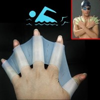 Silicone Swim Gloves S