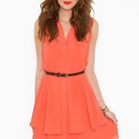 Bright Side Shirtdress in  What's New at Nasty Gal