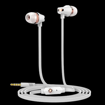 Original Langsdom JM23 3.5mm In-ear stereo Earphones Super Bass sound with mic for mobile phone iphone xiaomi