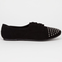 Soda Gala Girls Shoes Black/Silver  In Sizes