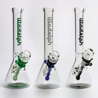 "Illadelph beaker Water Pipe 10""; Rasta water pipes oil rig 18.8mm joint V2"