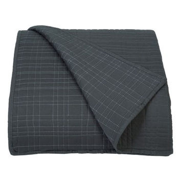 'Paragon Band' Quilted Coverlet