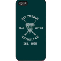 harry potter slytherin quidditch team captain  For iPhone 5/5S Case *AR*