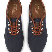 TOMS Navy Classic Cordones | zulily